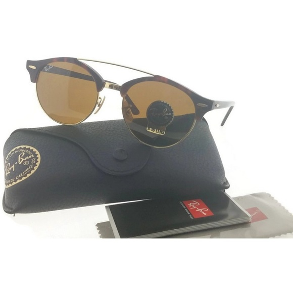 b14400141d RB4346-990-33 Men s Havana Frame Sunglasses